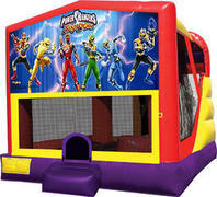 Power Rangers 4in1 Inflatable bounce house combo