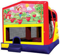 Strawberry Shortcake 4in1 Inflatable bounce house combo