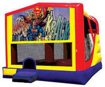 Superman 4in1 Inflatable bounce house combo