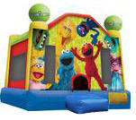 A-Sesame Street Inflatable bounce house