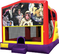 Space Kids 4in1 Bounce House Combo