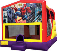 Spiderman 4in1 Bounce House Combo