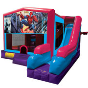 Spiderman Inflatable Pink Combo 7in1