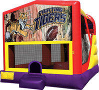Tigers 4in1 Bounce House Combo