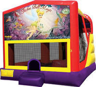 Tinkerbell 4in1 Inflatable bounce house combo