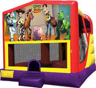 Toy Story 4in1 Inflatable bounce house combo