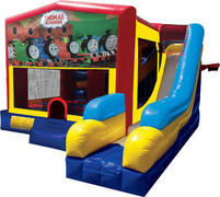 Train Inflatable Combo 7in1