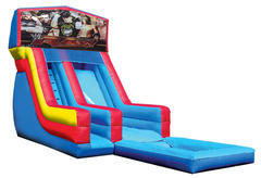 Wrestling Water Slide