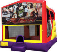 Wrestling 4in1 Bounce House Combo