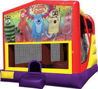 Yo Gabba Gabba 4in1 Bounce House Combo