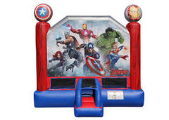 A Avengers Inflatable Bounce House rental