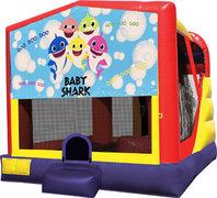 Baby Shark 4in1 Inflatable Bounce House Combo
