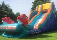 17 Ft. Big Kahuna Water Slide with Stop Pool