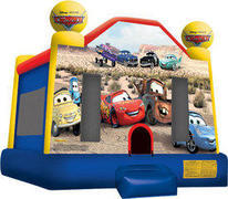A Cars Inflatable bounce house(13)