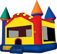 A Castle Inflatable bounce house