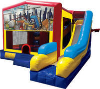 Construction Inflatable 7n1 Combo