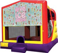 Ice Cream 4in1 Bounce House Combo