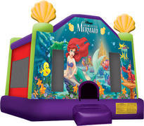 Little Mermaid Inflatable bounce house