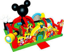 Mickey Mouse learning center toddler bouncer
