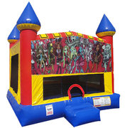 Monster High Inflatable Bounce house with Basketball Goal