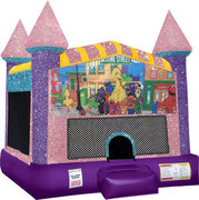 Sesame street Inflatable moonwalk pink