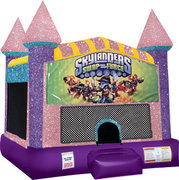 Skylanders Bounce house with Basketball Goal(pink)