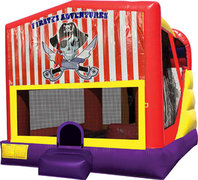 Pirates Adventure 4in1 Bounce House Combo