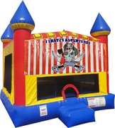 Pirates Adventure Inflatable bounce house with Basketball Goal