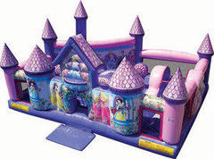 A-Princess Palace toddler bouncer