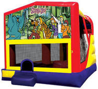 Scooby Doo 4in1 Inflatable bounce house combo