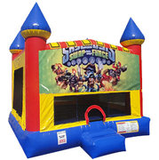 Skylanders Bounce house with basketball goal