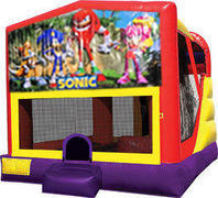Sonic 4in1 Bounce House Combo