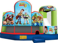 A-Toy Story 5in1 Inflatable bounce house combo