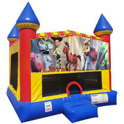 Toy Story Inflatable bounce house with Basketball Goal