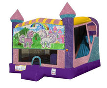 Unicorn Friends 4in1 Combo Bouncer Pink