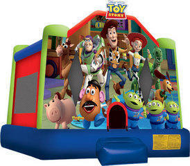 A Toy Story Inflatable bounce house(13)