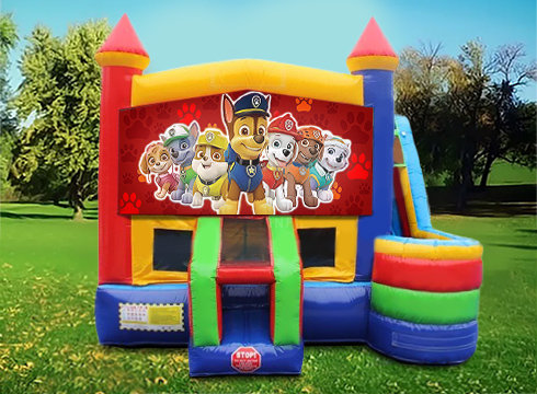 Paw Patrol 7in1 Bounce House Wet/Dry Combo