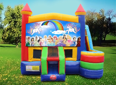 Disney Princesses 7in1 Wet/Dry Bounce House Combo