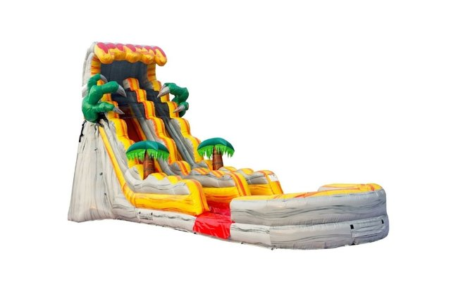 20 Ft T Rex waterslide