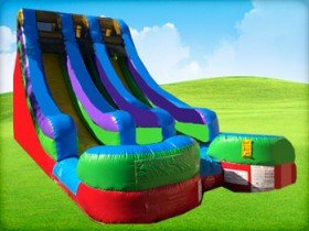 Double Dare Dry Slide  (R)- 18'