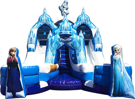 Frozen Toddler Water Slide
