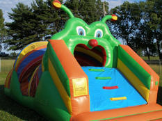 Very Hungry Caterpillar Obstacle