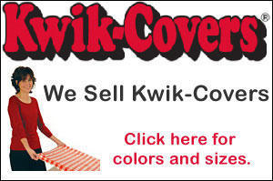 KWIK Elastic Table Covers (Special Order)