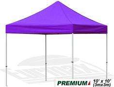10X10 E-Z Up Tent (Purple)