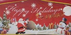 Happy Holidays 13' Panel