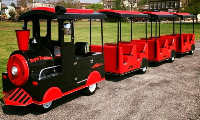 New Trackless Train-Electric