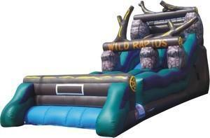 Wild Rapids Single Lane Dry Slide - 21'