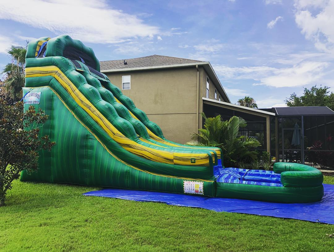 Water Slide Rental Bouncewithfuntimes Com Winter Garden Fl