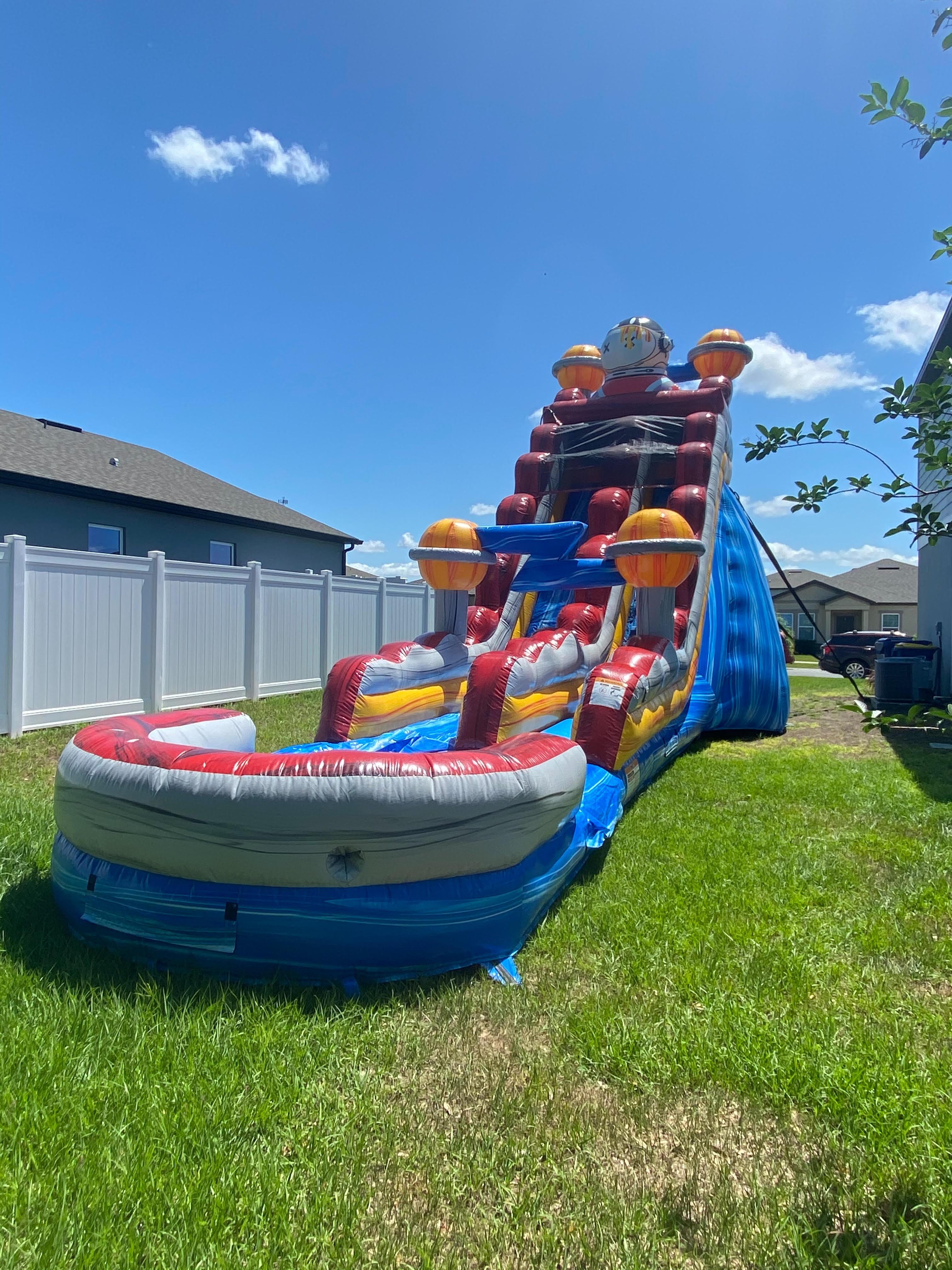 Apopka Water Slide rental