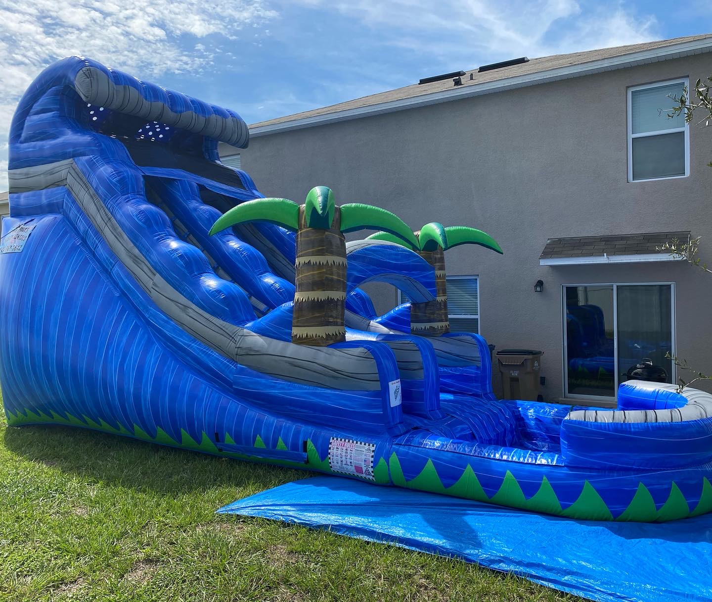 Groveland Inflatable Water Slide Rentals